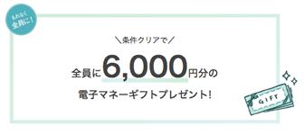 ハナユメ指輪購入キャンペーン(6,000円)