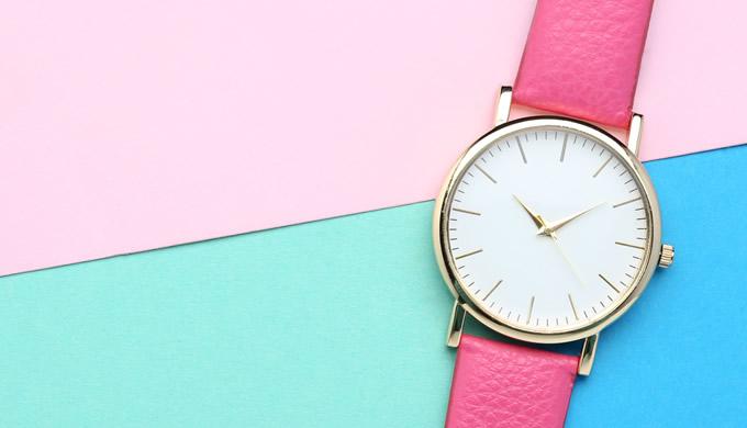 3色腕時計